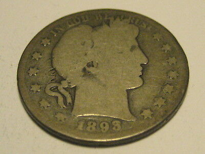 1893-S Barber Half Dollar KEY DATE