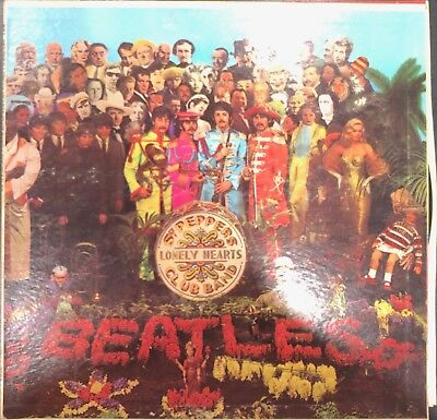 THE BEATLES Vinyl SGT. PEPPERS LONELY HEARTS CLUB BAND MAS2653 Capitol Records