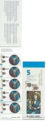 1997 Canada SC# BK 203b - Christmas Jesus and Mary - booklet of 5 M-NH