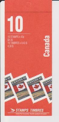 1994 Canada SC# BK 153Cd - Flag Over Prairie - booklet of 10 M-NH