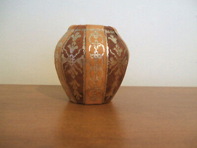 Small Pottery Covered Pot.