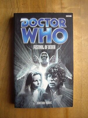 Doctor Who Festival of Death, Past Doctor Adventures (PDA), BBC book
