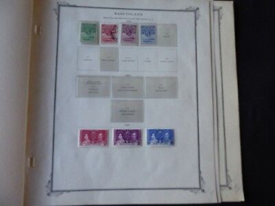 Ascension 1938-1972 Stamp Collection on Scott Specialty Album Pages