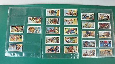 25 Kaufmannsbilder Cards Pirates and Buccaneers B.T.Limited Tea Alb-236
