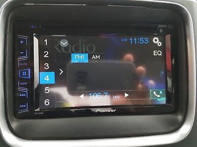 Pioneer AVH-290BT Double DIN Bluetooth Car Stereo USED