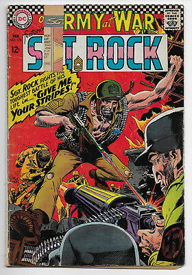 Our Army At War 176 Featuring Sgt Sargent Rock Poor