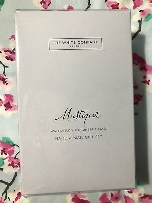 The White Company - Mustique Hand and Nail Gift Set. BRAND NEW SEALED