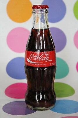 PARAGUAY South America COCA COLA BOTTLE ACL RARE 200 ml REGULAR COUNTRY HTF