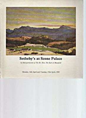 Sothebys 1980 Scottish Paintings, Silver, etc