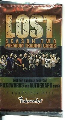 Lost Season 2 Factory Sealed Hobby Packet inkworks