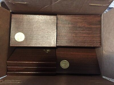 Lot of 30 - Brown Boxes for Ike Proofs