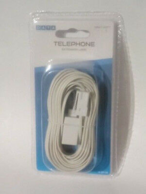 10M DATA Landline Telephone Extension Cable Lead for Phone Fax Modem Broadband