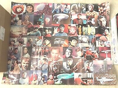 """Star Trek Collage Poster 