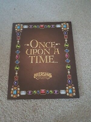 Once upon a time disney akershus Photo Frame With Postcards Retired Collectable
