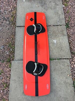 Shinn Ultrasonic Kiteboard Twintip 135x41 Very Good Conditions