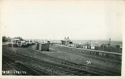 Caithness Railway Station Lybster Real Photo