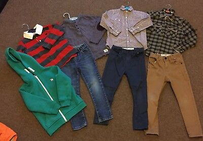 Boys Winter Bundle 5-6  Tops/jeans/hoody Next, Jasper Conran