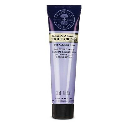 Neal's Yard Remedies Rose & Almond Night Cream 30Ml Unboxed £7.99 Free Post !!!