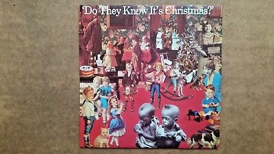 Band Aid: Do they Know it's Christmas  12'' Vinyl Record LP