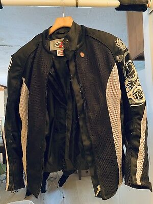 Joe Rocket woman's S armored motorcycle jacket, w/removable liner