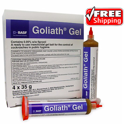 BASF Goliath Gel Cockroach Bait / Cockroach killer