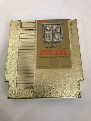 The Legend of Zelda 1987 Nintendo NES Gold Cartridge