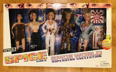 """Spice Girls Dolls::""""Spice World: Superstar Collection""""::official Merchandise:new"""