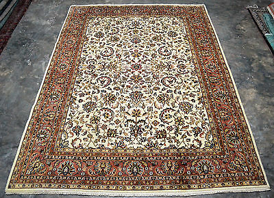 IMMACULATE VINTAGE Persian ORIENTAL 8'X11' hand knotted Wool Rug PK-1691
