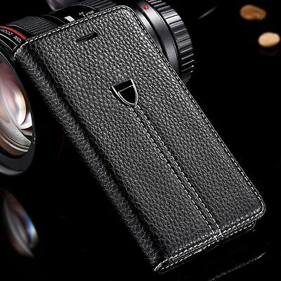 Case cover for Apple iPhone 4 4s  Magnetic Flip Leather Wallet Phone book luxury
