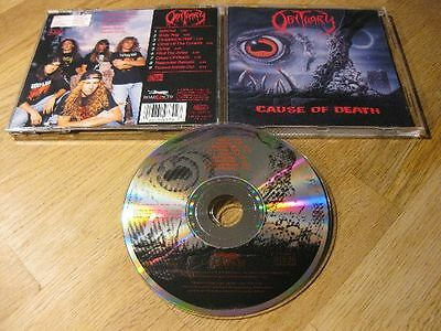 OBITUARY cause of death ORG 1990 Roadrunner RO 9370-2 |Autopsy, Death, Asphyx|