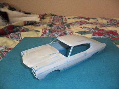 Vintage AMT 70 Chevy Chevelle SS 454 Body & Parts Lot 1:25