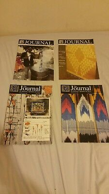 The Journal for Weavers, Spinners & Dyers all 4 Magazines from 1998