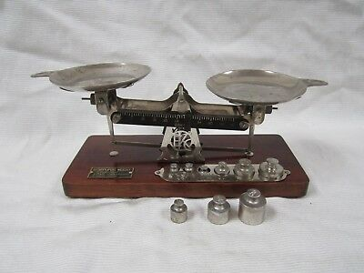 Vintage Antique Eastman Kodak Avoirdupois Weight Studio Scale Good Working Cond
