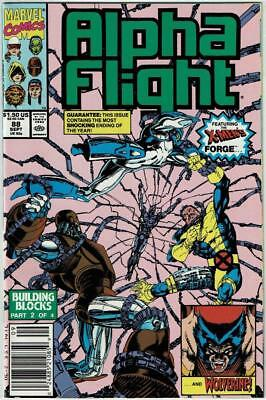ALPHA FLIGHT (1983 Series) 88 89 90 91 92 93 94 95 - All Near Mint