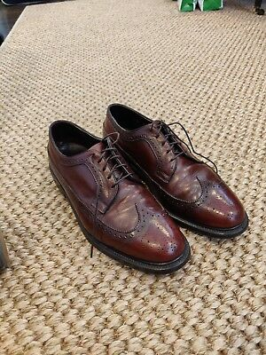 Vintage brown leather longwings - 9.5D - made in USA (Hanover or Florsheim?)