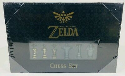Chess: The Legend Of Zelda Collector's Edition Limited Set Board Game New In Box