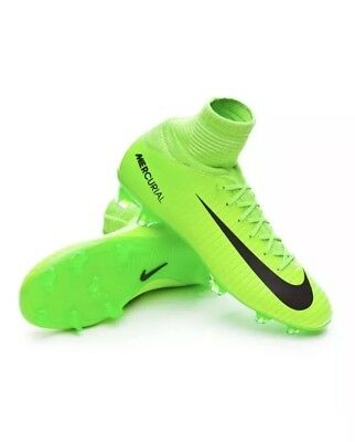 d4a6c1626a4f Nike Mercurial Superfly V FG Football Sock Boots Size 4.5 Uk Kids Boys CR7  - NEW