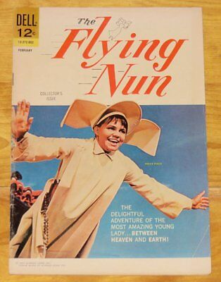 February 1968 THE FLYING NUN No. 1 Solid VG/Fine 5.0 SALLY FIELD No Reserve