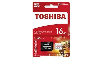 Toshiba M302-EA EXCERIA MicroSDHC UHS-1 Card with Adaptor 16GB New & Sealed