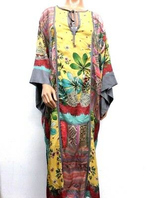 NWT Johnny Was Botanical Stan Kimono Dress - M / L - OL19601218