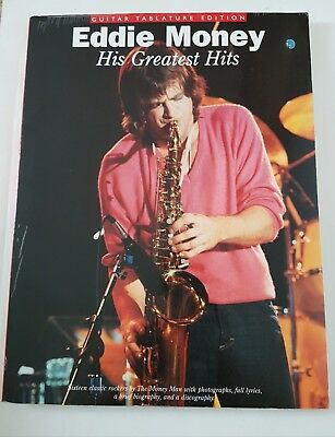 Eddie Money: His Greatest Hits (Guitar Tablature Edition) Music Book
