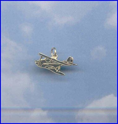 Made in the USA Beech Staggerwing Aircraft Airplane Aviatrix Charm 99's