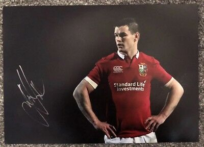 Signed Johnny Jonathan Sexton Lions Rugby A4 Photo (World Player Of The Year)