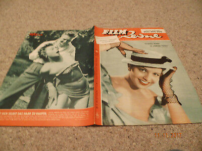 Film Revue Nr. 18, 1953,  Germaine Damar on cover, Nadja Tiller