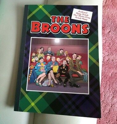 The Broons - Scottish Cartoon Strip Book Comic Scotland Happy Family 2017