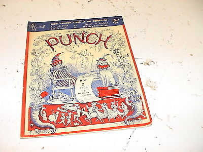 Vintage Punch Comic Magazine 3rd June 1953 - Present 65 03/06/1953