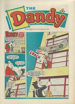 Dandy Comics. March 1965. Very GOOD Condition. March 6th, 13th, 20th & 27th 1965