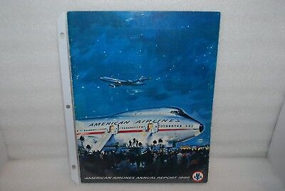 Vintage - 1966 American Airlines Annual Report - 747 Aircraft