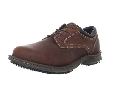 Timberland Pro Gladstone Oxford Steel Toe Size 12 W Mens Anti Slip Shoes Brown