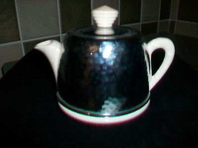 Vintage small Teapot with fitted aluminium Cover